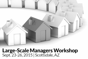 Large-Scale Managers Workshop