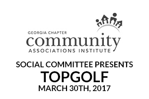 CAI Georgia Social Committee Presents TopGolf