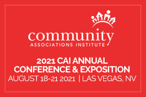 2021 CAI Annual Conference and Exposition Promo logo