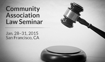 Community Association Institute Law Seminar