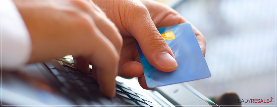 Guaranteed Payments option through ReadyRESALE online payment on a laptop